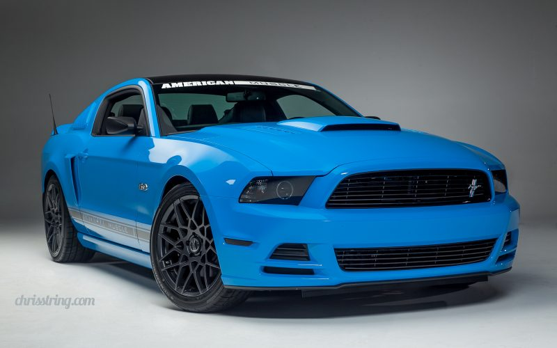 American Muscle's Mustang in the Studio