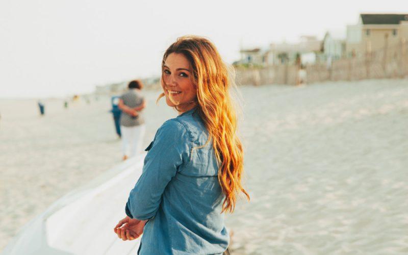 Beach Portraits with Meg