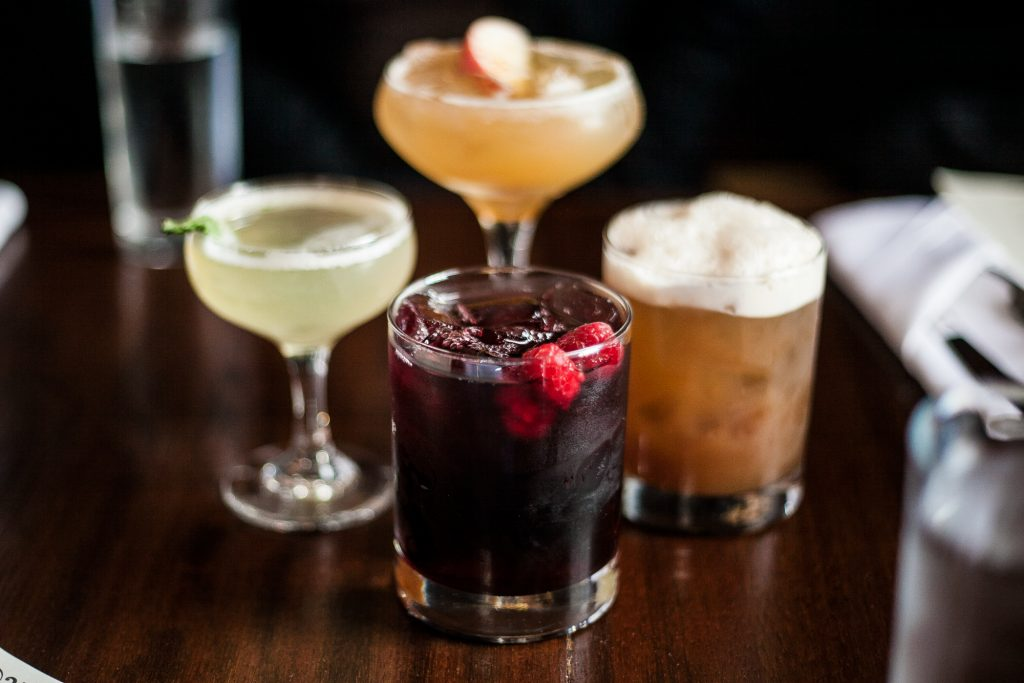 Cocktail drinks in Philadelphia's Little Lion