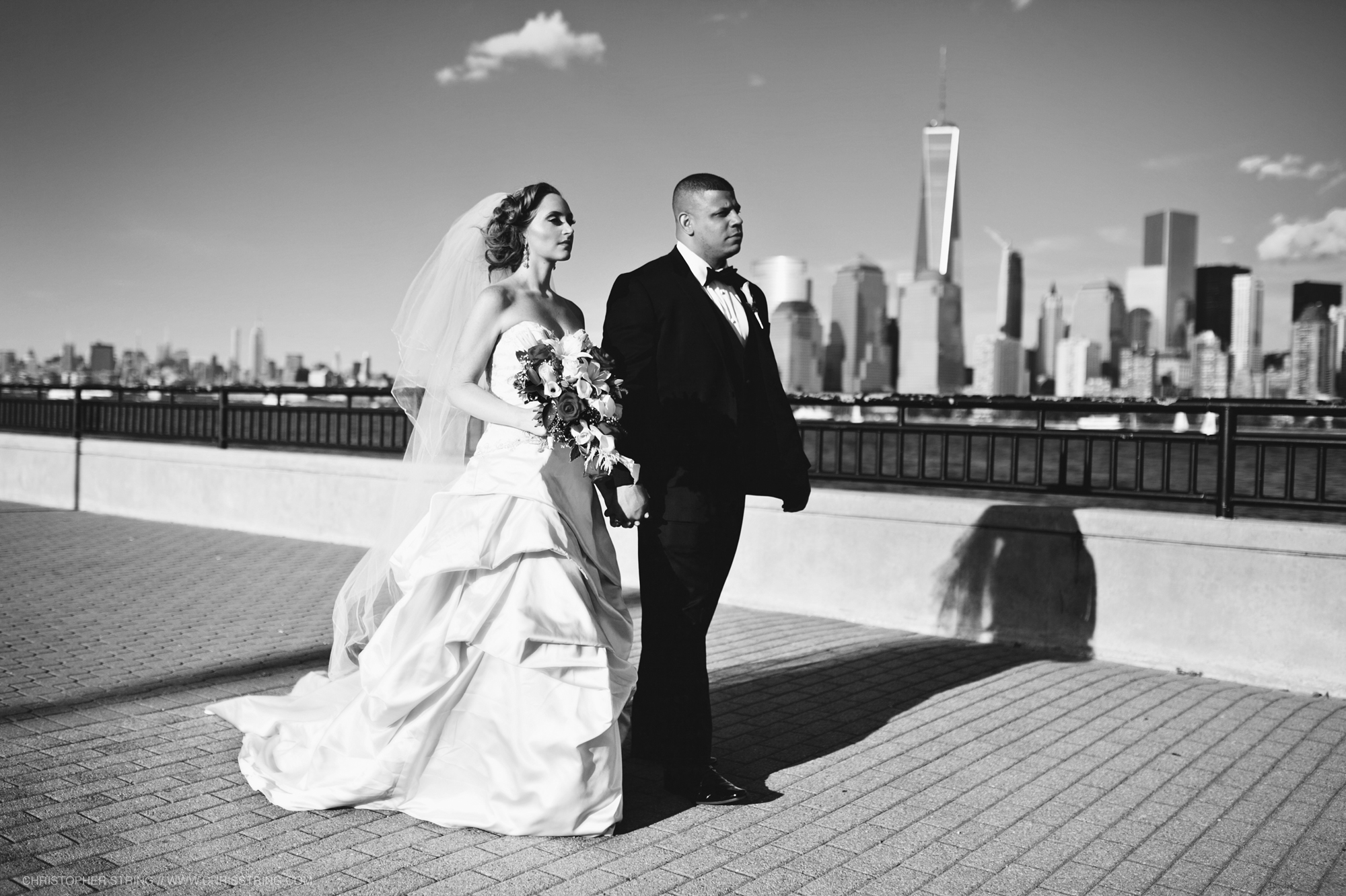 Wedding of Jessica and David Abreu in Jersey City